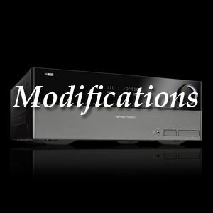 Harman Kardon Receiver modifications, Oppodigital Blu-ray modifications, Pioneer Elite Modifications
